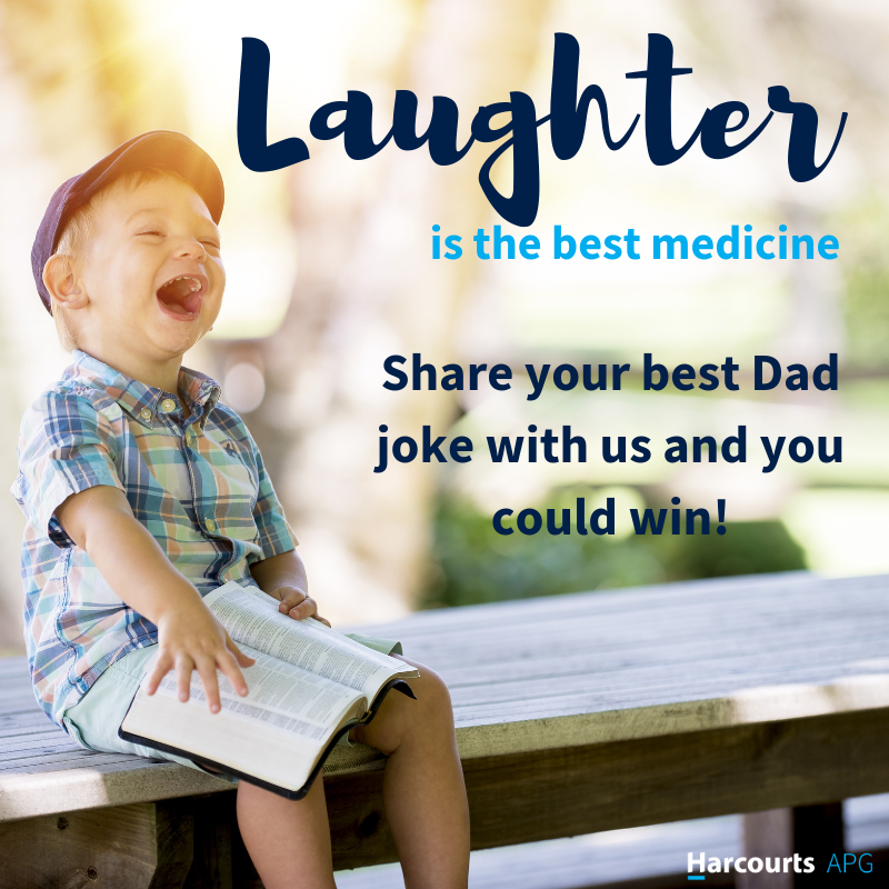 Best Dad Joke Father's Day Competition 2019 | Harcourts APG
